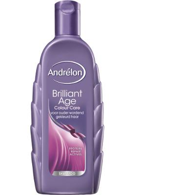 Productafbeelding Andrélon Shampoo Brilliant Age Colour & Care