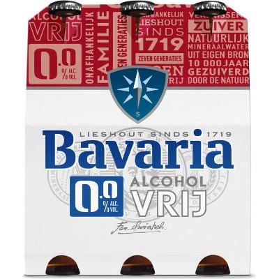 Productafbeelding Bavaria Bier 0.0 Fles
