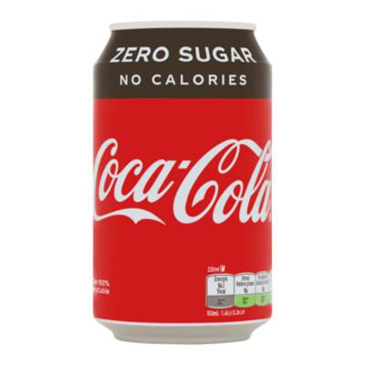Productafbeelding Coca-Cola Zero Blik