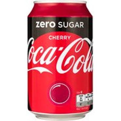 Productafbeelding Coca-Cola Zero Cherry Blik