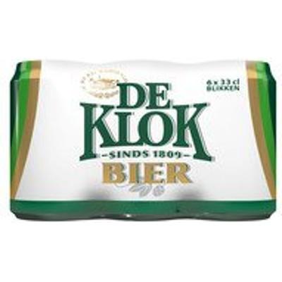 Productafbeelding De Klok Bier Blik