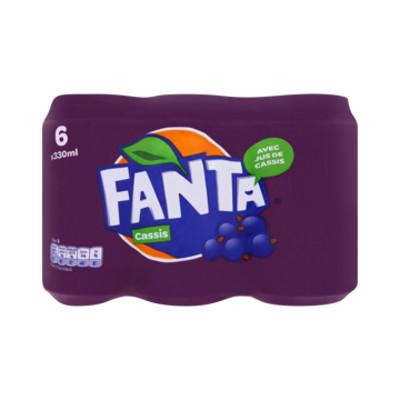 Productafbeelding Fanta Regular Cassis Blik