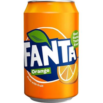 Productafbeelding Fanta Regular Orange Blik