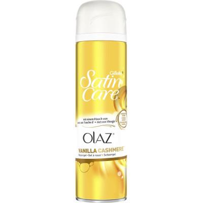 Productafbeelding Gillette Scheergel Satin Care Olaz Vanilla Cashmere