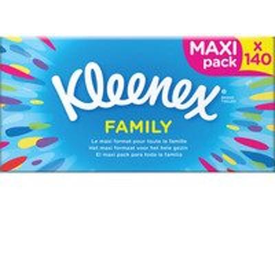 Productafbeelding Kleenex Tissues Family