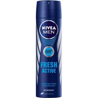 Productafbeelding Nivea Men Deospray Fresh Active