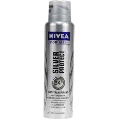 Productafbeelding Nivea Men Deospray Silver Protect