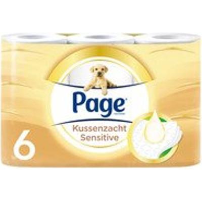 Productafbeelding Page Toiletpapier Kussenzacht Sensitive