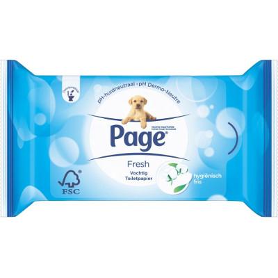 Productafbeelding Page Vochtig Toiletpapier Fresh