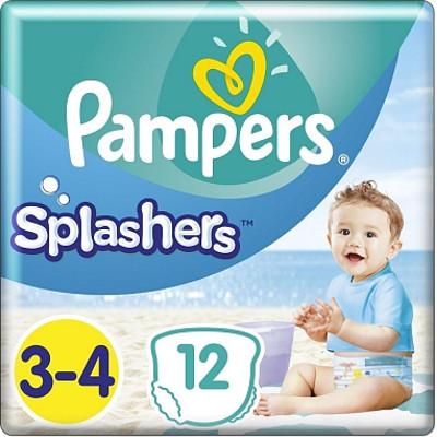 Productafbeelding Pampers Splashers Maat 3-4