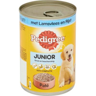 Productafbeelding Pedigree Hondenvoer Pate Junior Lam Rijst