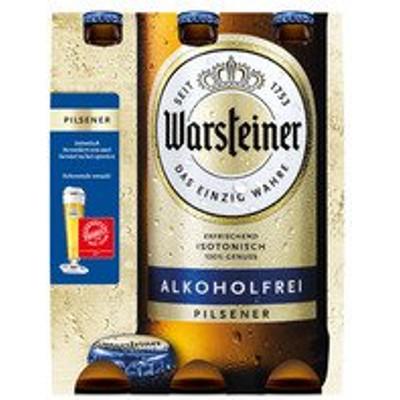 Productafbeelding Warsteiner Bier Alcoholvrij Fles