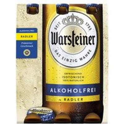 Productafbeelding Warsteiner Radler Alcoholvrij Citroen Fles