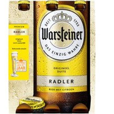 Productafbeelding Warsteiner Radler Citroen Fles